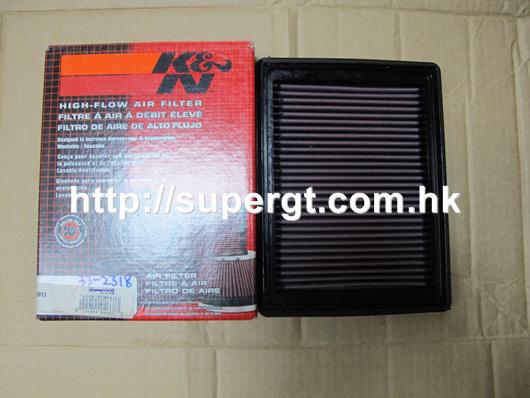 K/&N Filtre à Air pour Honda Civic 1.4 1994-2001 33-2047